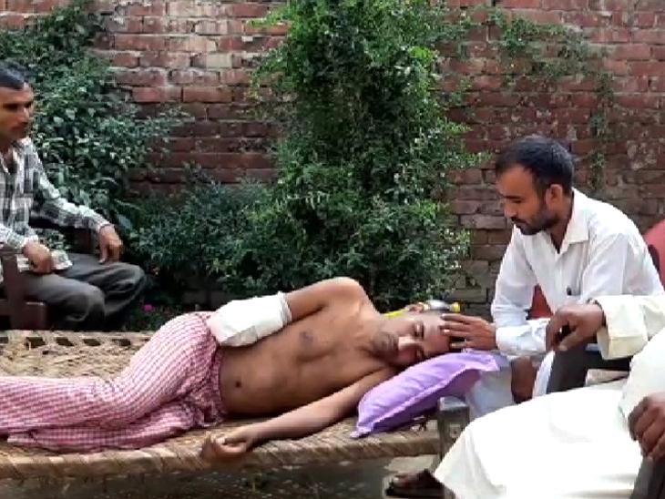 इखलाकके परिवार ने कहा- मुस्लिम होने के चलते बेटे का हाथ काटा गया, दूसरे पक्ष ने लगाया यौन शोषण का आरोप|DB ओरिजिनल,DB Original - Dainik Bhaskar
