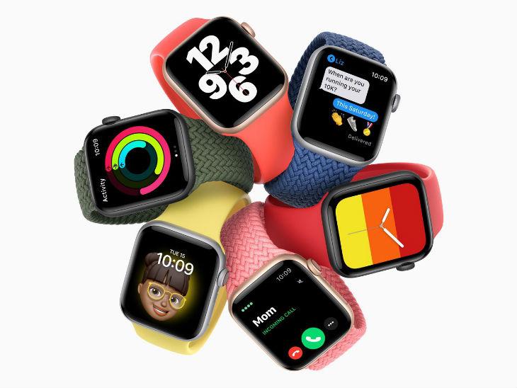 एपल ने पेश की दो नई वॉच, सीरीज 6 पंद्रह सेकंड में बताएगी ब्लड-ऑक्सीजन लेवल, तो अफॉर्डेबल वॉच SE से बिना आईफोन कर सकेंगे कॉलिंग-मैसेजिंग|टेक & ऑटो,Tech & Auto - Dainik Bhaskar