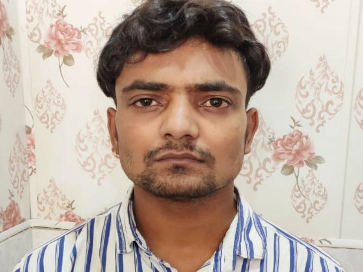 मुख्य आरोपी बंटी खान को पुलिस ने बुधवार को गिरफ्तार कर लिया। - Dainik Bhaskar