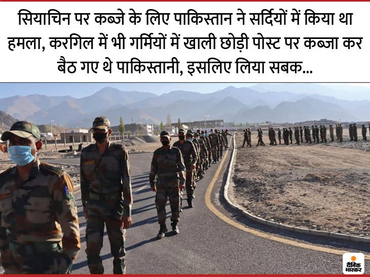 इस बार लद्दाख में सर्दियां सेना के लिए सबसे महंगी होंगी, 1962 के बाद पहली बार चीन सीमा से सटी पोस्ट सर्दियों में भी खाली नहीं करेगी भारतीय सेना|DB ओरिजिनल,DB Original - Dainik Bhaskar