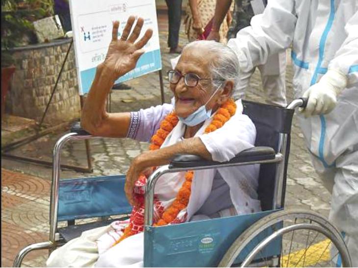 असम में हाई ब्लड प्रेशर से जूझ रहीं 100 साल की माई ने कोरोना को दी मात; असमिया भाषा में गाना गाकर इस खुशी को किया सेलिब्रेट|लाइफ & साइंस,Happy Life - Dainik Bhaskar