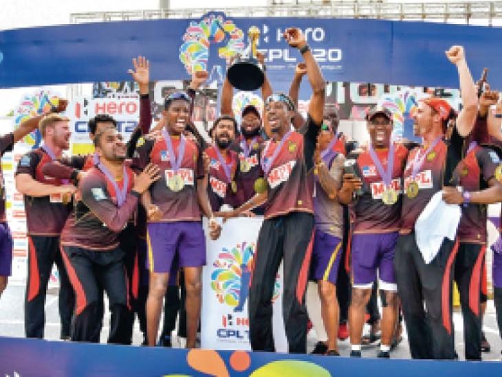 10 सितंबर को कैरेबियन प्रीमियर लीग में त्रिनबागो नाइटराइडर्स चौथी बार चैंपियन बना। इसके बाद उसके खिलाड़ी आईपीएल खेलने यूएई पहुंच गए।