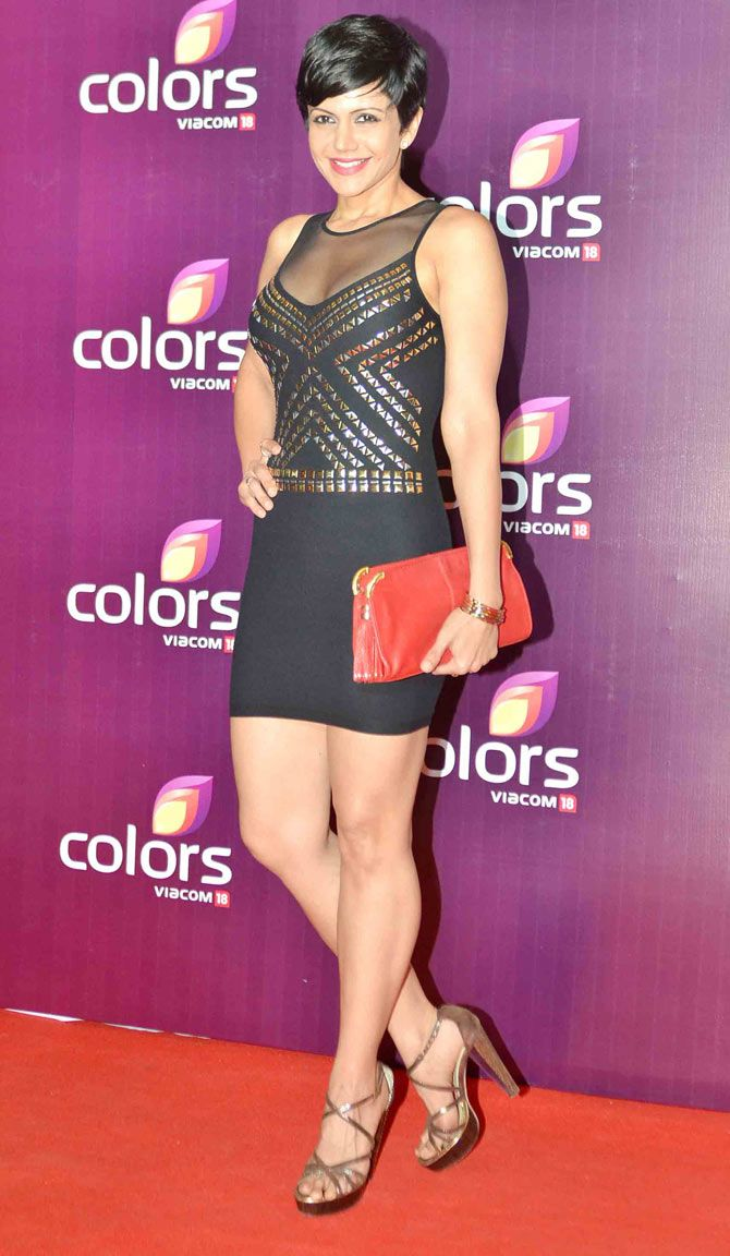 Mandira Bedi started anchoring from the second season of IPL.
