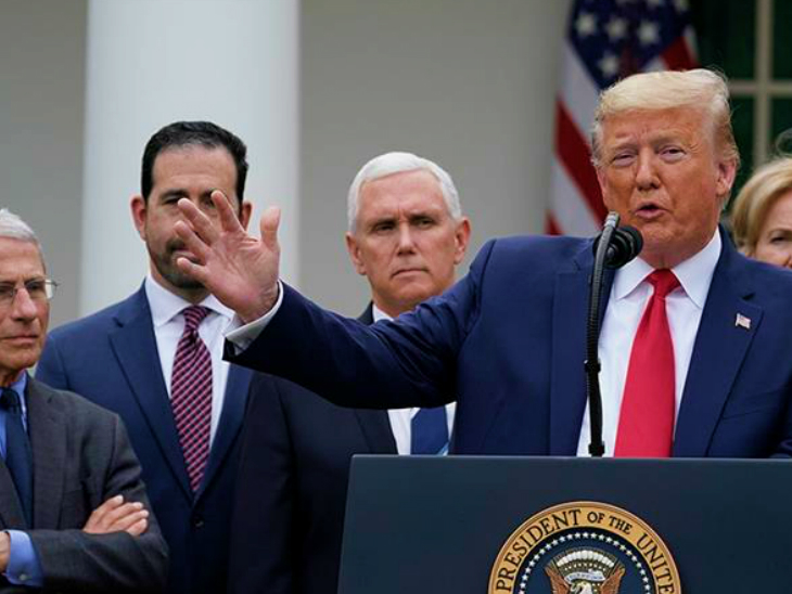 US President Donald Trump said that the coronavirus vaccine would reach every American by April next year. Advisers to the US president do not agree with his claim. (File)