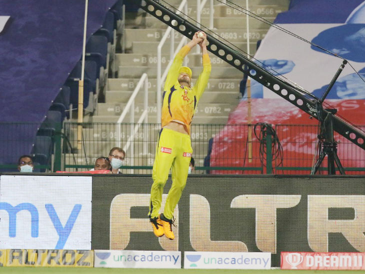 CSK beats MI in 1st match with 5 wickets