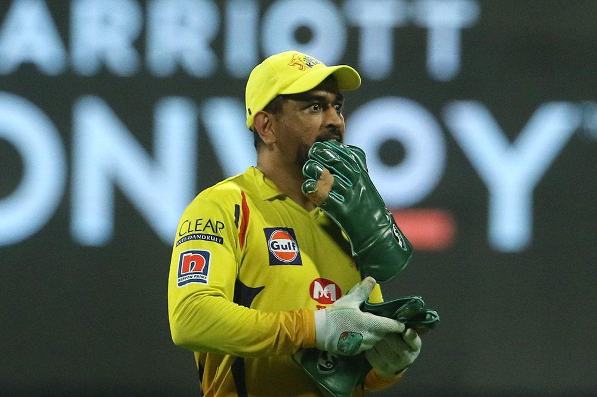 मैच के दौरान महेंद्र सिंह धोनी की बॉडी लैंग्वेज हमेशा ही चर्चा में रहती है। ऐसा ही एक वाकया आज भी देखने को मिला।