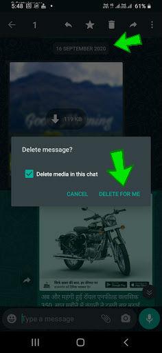 वॉट्सऐप पर भेजे पुराने मैसेज या फोटो दिखा कर रहा है कोई परेशान, तो टेंशन ना लें; इन आसान तरीके से सालों पुराने मैसेज भी सभी के लिए डिलीट कर सकेंगे