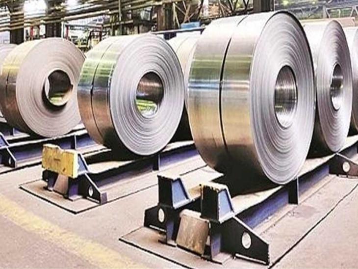अप्रैल-अगस्त में भारत ने 60-80% स्टील का निर्यात किया, इसमें से सबसे ज्यादा निर्यात चीन को हुआ - Dainik Bhaskar
