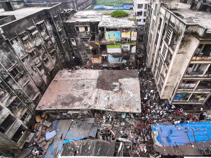 बिल्डिंग जर्जर हालत में थी, कई बार नोटिस भी दिया गया।