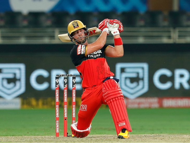 एबी डिविलियर्स ने धमाकेदार पारी से बेंगलुरु को 160 रन के पार पहुंचाया। एबी ने 51 रन की पारी खेली।