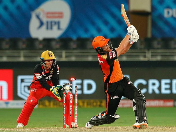 जॉनी बेयरस्टो ने हैदराबाद के लिए 61 रन की पारी खेली। लेकिन, वह अपनी टीम को मैच नहीं जीता सके।