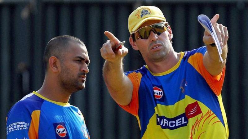"""फ्लेमिंग ने कहा,  """"ब्रावो को ट्रेनिंग सेशन हम मॉनिटर कर रहे हैं उनका टीम में न होना हमारे लिए बड़ा नुकसान है"""" (फाइल फोटो) - Dainik Bhaskar"""