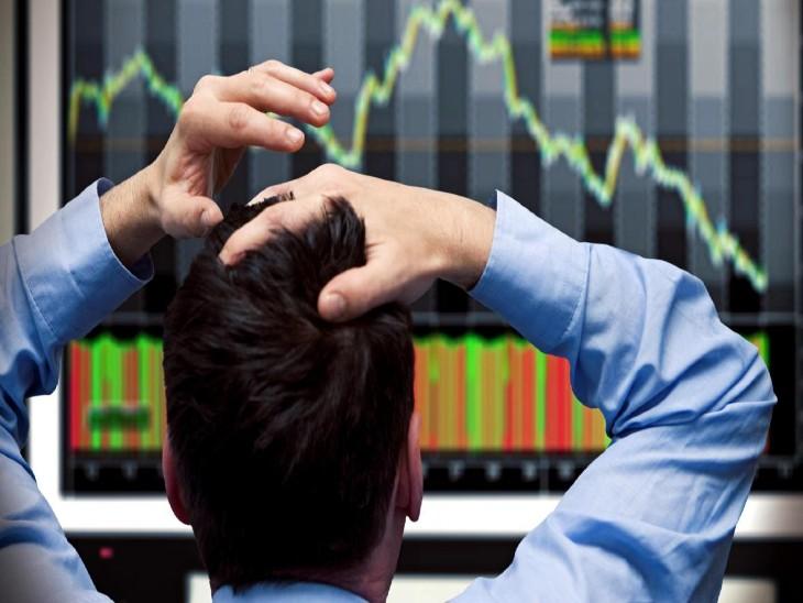 बाजार में ऑटो और रियल्टी के शेयरों में भारी बिकवाली है। - Dainik Bhaskar