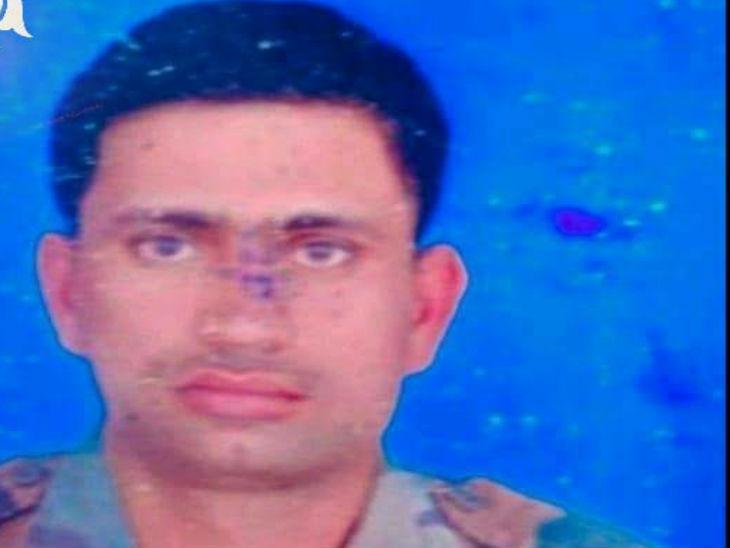 लाहौल में शहीद हुआ कन्नौज का जवान, शहादत की सूचना मिलने पर परिवार में शोक की लहर|उत्तरप्रदेश,Uttar Pradesh - Dainik Bhaskar
