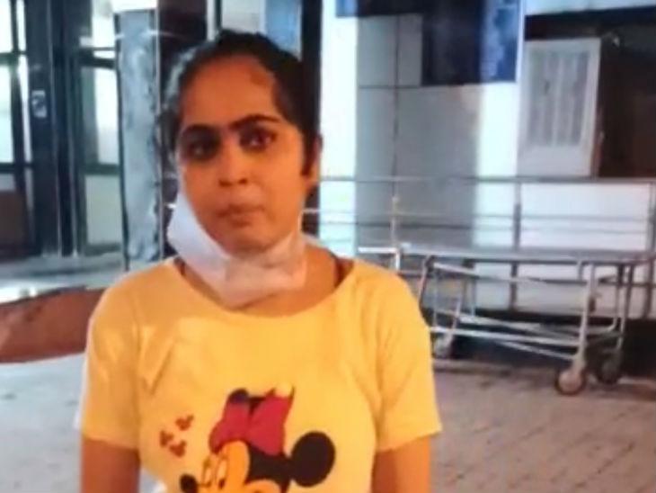 प्रियंका ने मां की मौत के बाद अस्पताल प्रबंधन पर गंभीर आरोप लगाए।