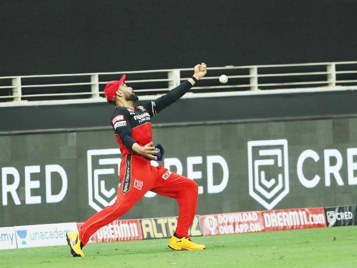 17वें ओवर की आखिरी बॉल पर कोहली ने राहुल का बाउंड्री पर कैच छोड़ा। डेल स्टेन का ओवर था। इस समय राहुल 83 रन बनाकर खेल रहे थे।