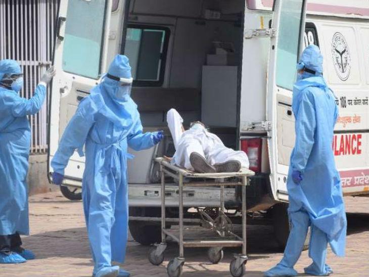 यूपी में अभी तक 5517 कोरोना मरीजों की मौत हुई है। सरकार का दावा है कि ठीक होने वाले मरीजों की संख्या लगातार पहले की तुलना में बढ़ रही है। - Dainik Bhaskar