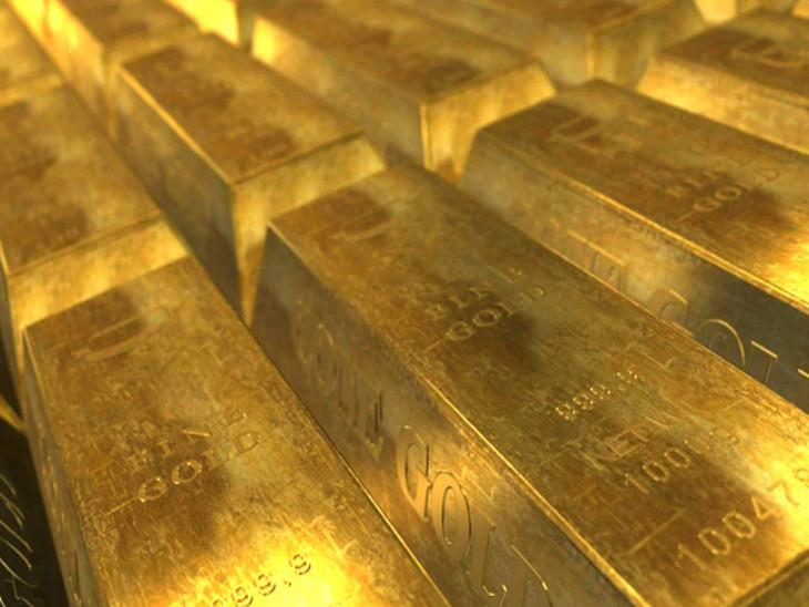 अंतरराष्ट्रीय मार्केट में सोना-चांदी में मार्च के बाद की सबसे बड़ी साप्ताहिक गिरावट, डॉलर में बड़ा उछाल|बिजनेस,Business - Dainik Bhaskar