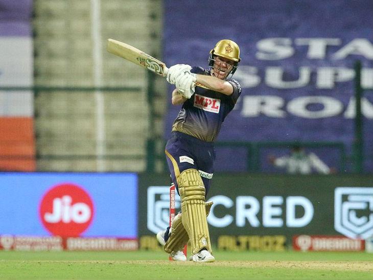 5वें नंबर पर बल्लेबाजी करने आए इयोन मोर्गन ने 29 बॉल पर 42 रन बनाए।