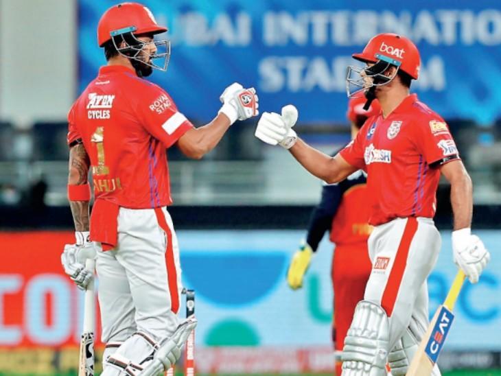 10 बार 425+ का स्कोर बना, इसमें 6 बार पंजाब की टीम शामिल रही, पंजाब-राजस्थान के मैच में 449 रन बने थे IPL 2020,IPL 2020 - Dainik Bhaskar