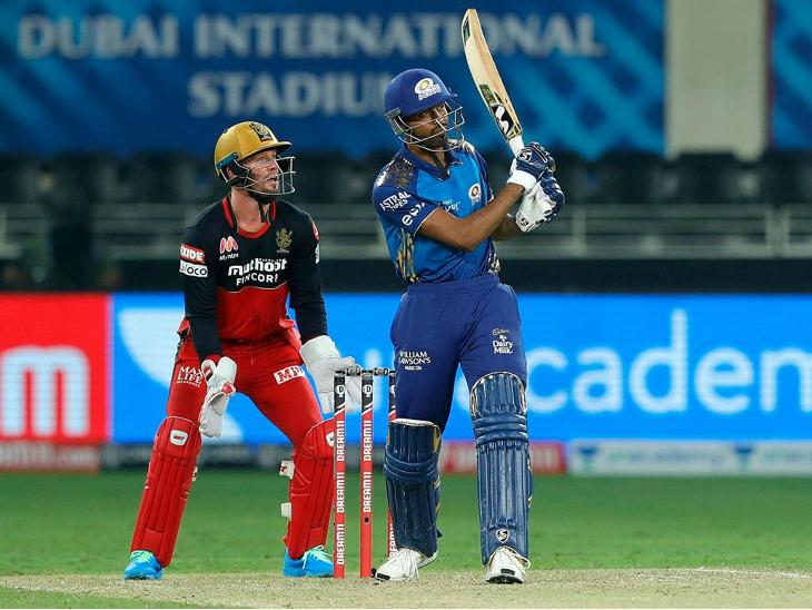 मुंबई के हार्दिक पंड्या को शुरुआत तो मिली, लेकिन उसका वह फायदा नहीं उठा सके। पंड्या ने 15 रन की पारी खेली।