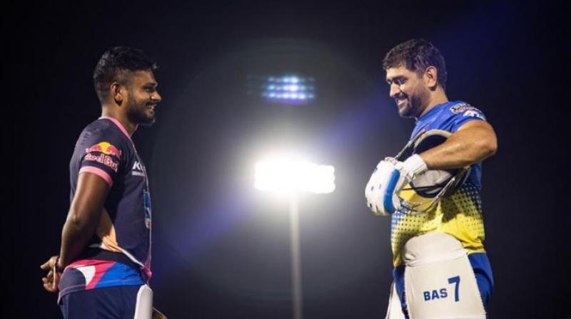 कांग्रेस सांसद शशि थरूर ने सैमसन को कहा- अगला धोनी; सैमसन ने कहा धोनी जैसा न कोई हो सकता है और न ही इसके बारे में सोचना चाहिए|क्रिकेट,Cricket - Dainik Bhaskar