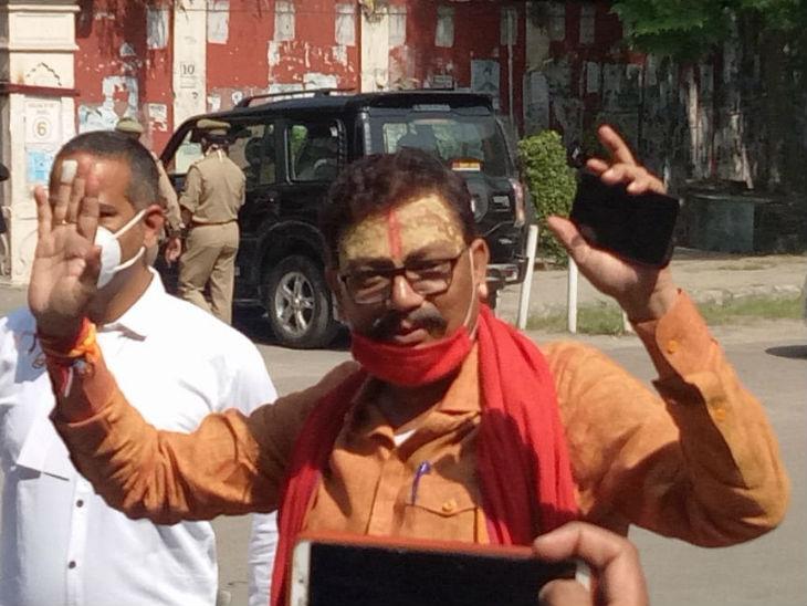 केस में आरोपी रहे पवन पांडेय ने कहा- सजा भी हो जाए तो गम नहीं।