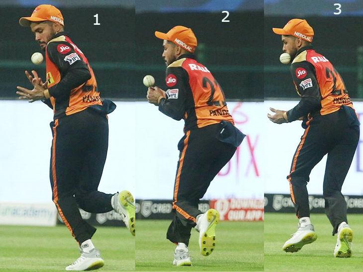 हैदराबाद और दिल्ली के खिलाड़ियों ने दिखाया फील्डिंग में जोश; राशिद खान का आईपीएल में अब तक का बेस्ट बॉलिंग परफॉर्मेंस IPL 2020,IPL 2020 - Dainik Bhaskar