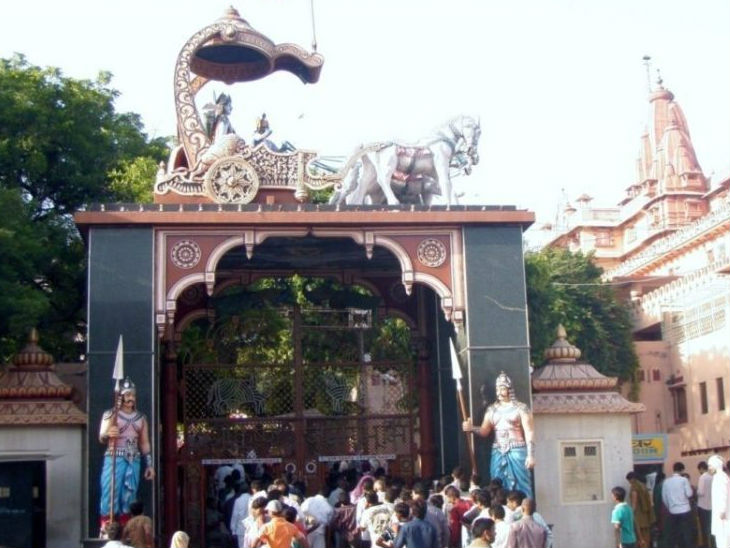 मथुरा की अदालत ने शाही मस्जिद पर श्रीकृष्ण जन्मस्थान का दावा खारिज किया, 13.37 एकड़ जमीन पर भी किया गया था दावा|उत्तरप्रदेश,Uttar Pradesh - Dainik Bhaskar