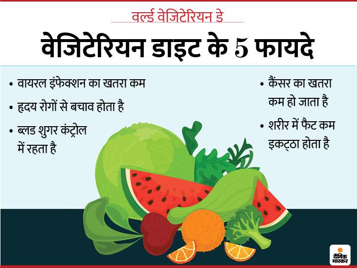 50 सालों में 70% बीमारियां जानवरों से फैलीं, रिसर्च कहती हैं कि बचना है तो डाइट में फल-सब्जियां आज से ही बढ़ा लें|लाइफ & साइंस,Happy Life - Dainik Bhaskar