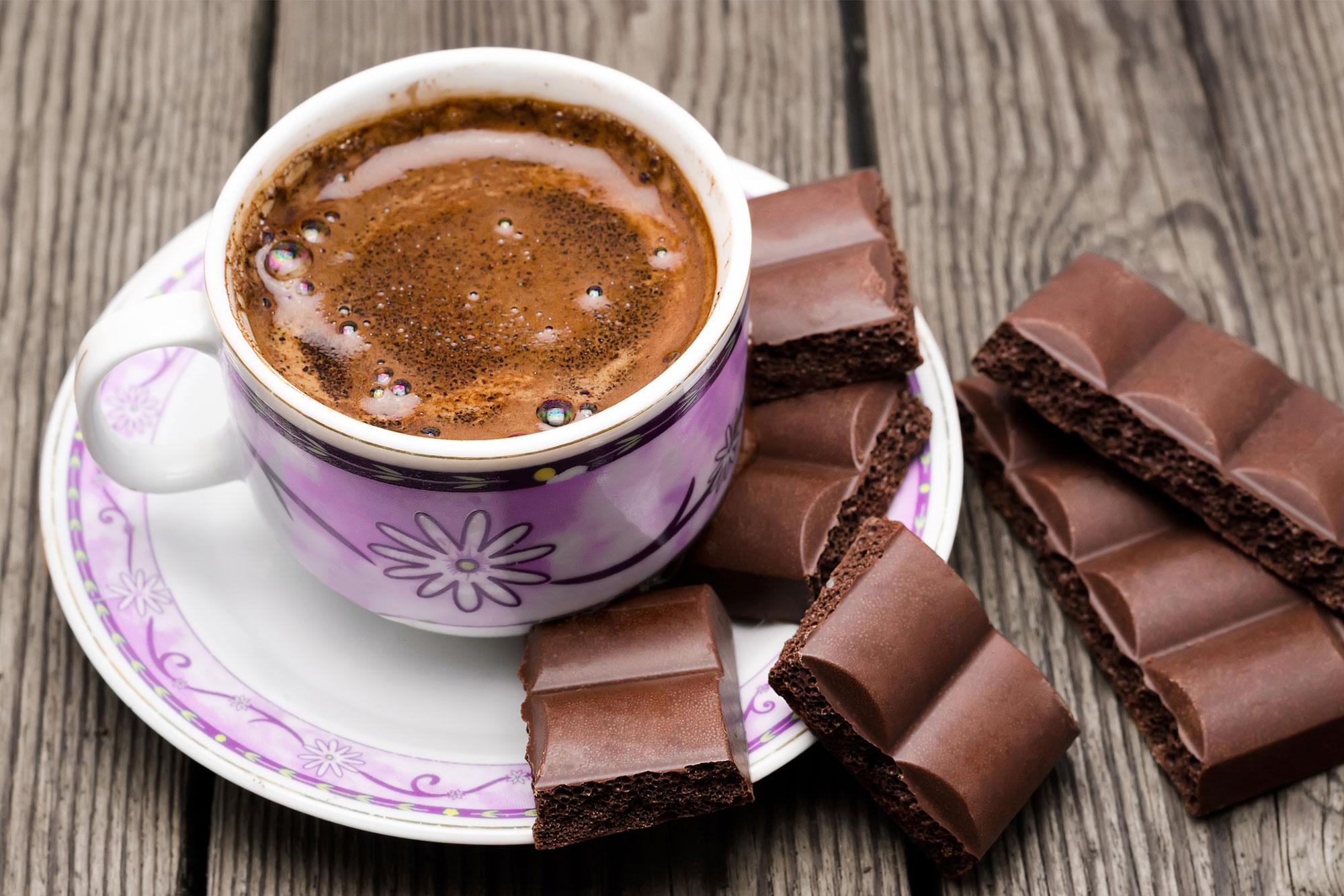 चॉकलेट कॉफी