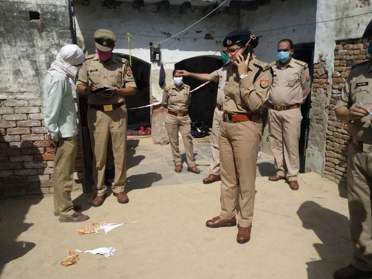 एसपी सुनीति ने भी घटना स्थल का जायजा लिया।
