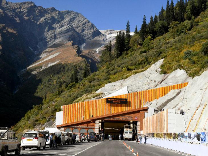 इस टनल का निर्माण 2010 में शुरू हुआ था।