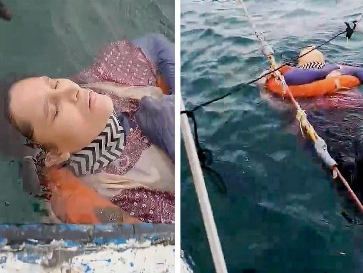46 वर्षीय एंजेलिका गैतान दो साल बाद समुद्र में जिंदा मिली, पति के अत्याचारों से तंग आकर आत्महत्या करने वाली इस महिला को मछुआरों ने दी नई जिंदगी|लाइफस्टाइल,Lifestyle - Dainik Bhaskar
