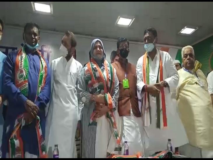 मशहूर शायर मुनव्वर राणा की बेटी फौजिया राणा ने बिहार में थामा कांग्रेस का हाथ, कहा- पार्टी टिकट देगी तो लड़ूंगी चुनाव|बिहार,Bihar - Dainik Bhaskar
