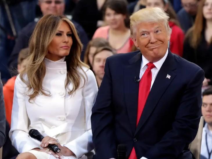 अमेरिकी राष्ट्रपति डोनाल्ड ट्रम्प और उनकी पत्नी मेलानिया ट्रम्प दोनों संक्रमित पाए गए हैं। इसके पहले गुरुवार रात ट्रम्प की सीनियर सीनियर एडवाइजर होप हिक्स भी पॉजिटिव पाई गई थीं। (फाइल फोटो)