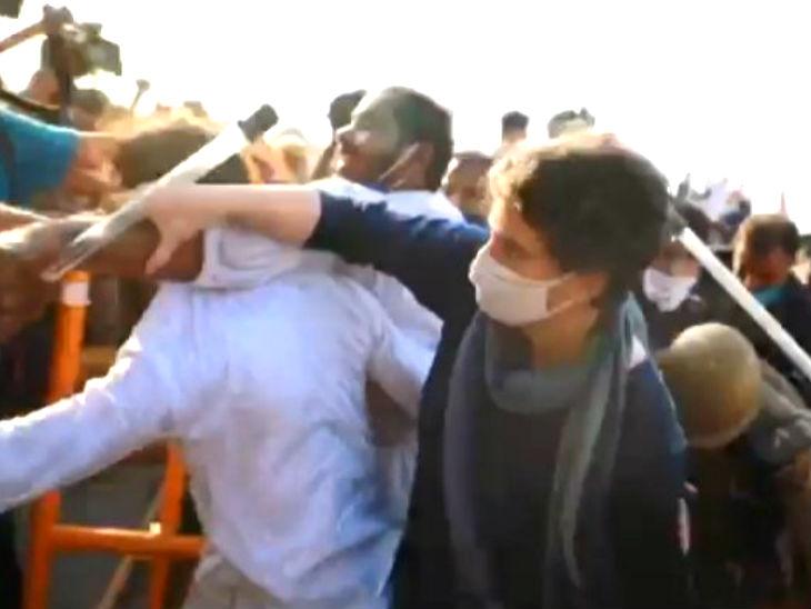 इस बात से मौके पर मौजूद कांग्रेस के कार्यकर्ता नाराज हो गए और हंगामा करने लगे। हंगामा कर रहे कांग्रेस कार्यकर्ताओं पर पुलिस ने लाठियां चलाना शुरू कर दीं।