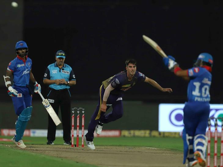आईपीएल के सबसे महंगे विदेशी खिलाड़ी कोलकाता के पैट कमिंस ने 4 ओवर में 49 रन लुटाए।