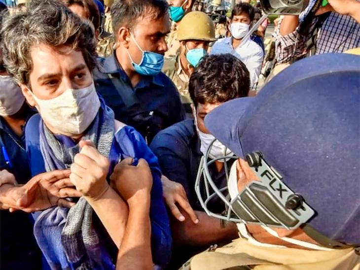 योगी ने हाथरस केस की जांच CBI से कराने के आदेश दिए; पीड़ित परिवार से बंद कमरे में करीब 50 मिनट तक चली राहुल-प्रियंका की मुलाकात|देश,National - Dainik Bhaskar