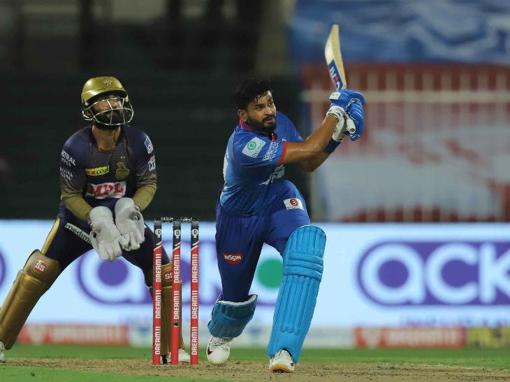 दिल्ली कैपिटल्स के कप्तान श्रेयस अय्यर ने 88 रन की शानदार पारी खेली।