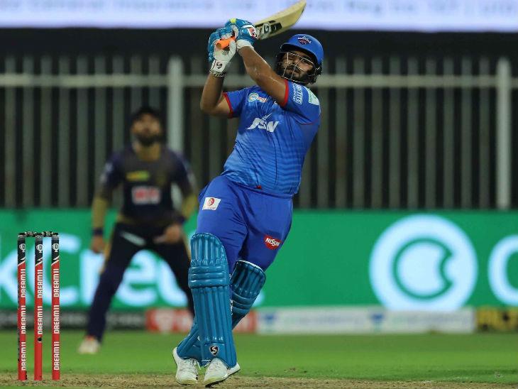 दिल्ली के ऋषभ पंत ने भी शानदार बल्लेबाजी की। पंत ने 17 बॉल पर 38 रन बनाए।