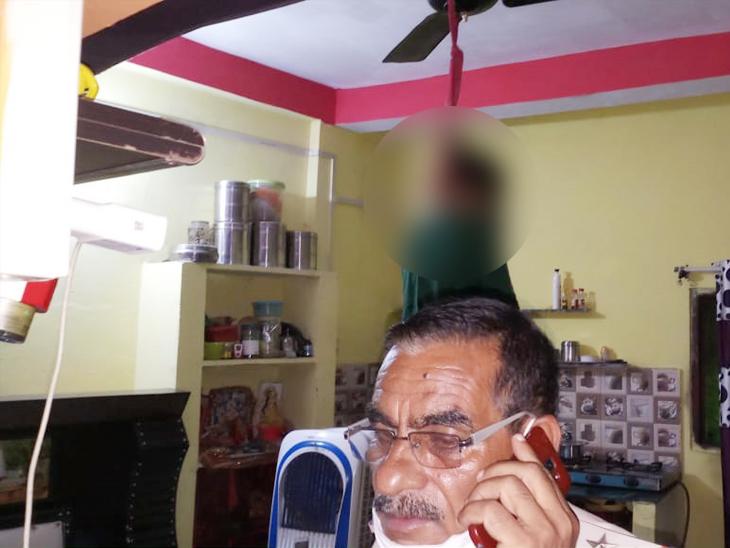 मंगलवारा पुलिस ने देर रात पोस्टमार्टम के लिए शव हमीदिया अस्पताल भेज दिया था। - Dainik Bhaskar