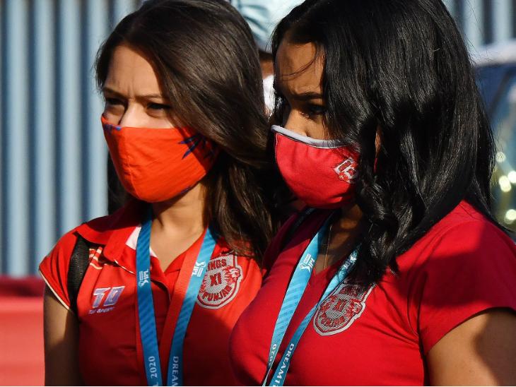 चेन्नई और पंजाब मैच के दौरान मौजूद फैंस।