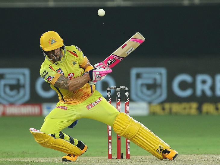 फाफ डु प्लेसिस ने अपनी शानदार फॉर्म जारी रखी। उन्होंने नाबाद 87 रन की पारी खेली।