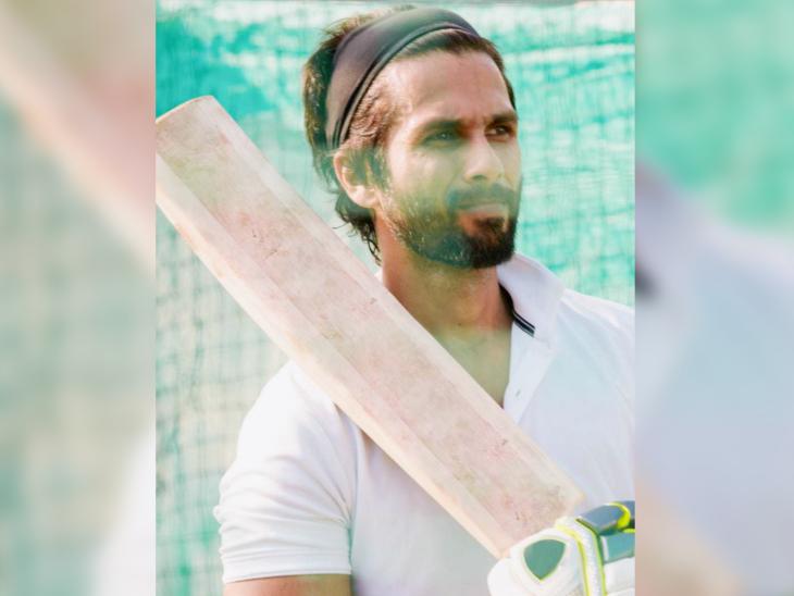 भारत में कोविड की दस्तक से पहले शाहिद कपूर ने 'जर्सी' की शूटिंग शुरू कर दी थी। - Dainik Bhaskar