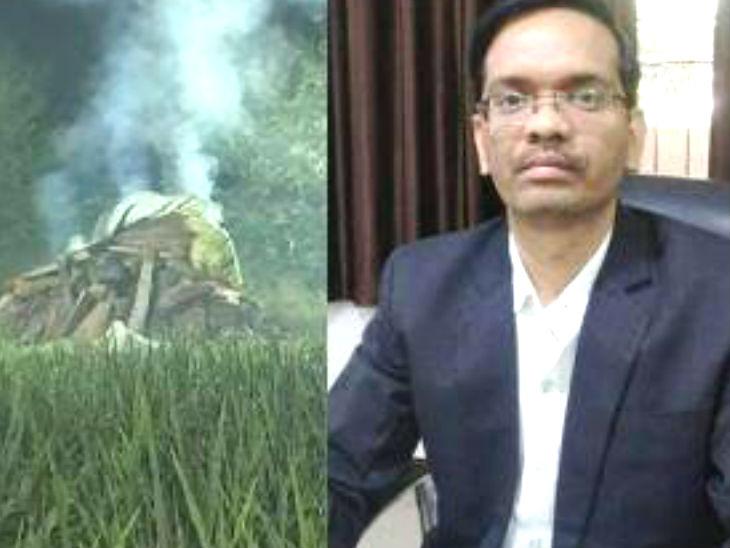 डीएम प्रवीण कुमार लक्षकार पर कार्रवाई न होने से पीड़ित परिवार नाराज, जांच प्रभावित करने का आरोप|उत्तरप्रदेश,Uttar Pradesh - Dainik Bhaskar