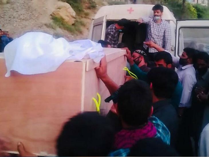मृतकों का शव जब उनके घर पहुंचा। 3 अक्टूबर को तीनों को दोबारा उनके पैतृक गावों में सुपुर्दे खाक किया गया।