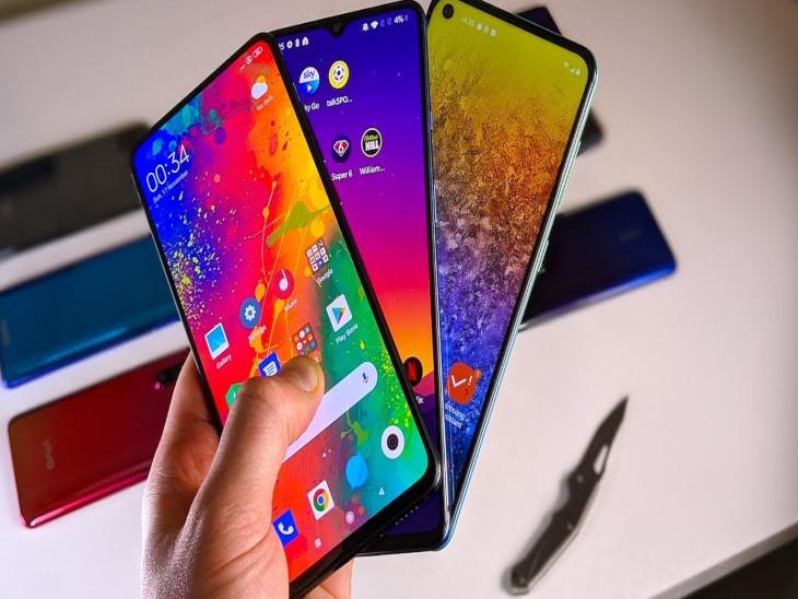 मोबाइल फोन बनाने के लिए एपल, सैमसंग समेत 10 कंपनियों को मिली मंजूरी; अगले पांच सालों में बनेंगे 10.5 लाख करोड़ रुपए के स्मार्टफोन, 11000 करोड़ रुपए का होगा निवेश बिजनेस,Business - Dainik Bhaskar