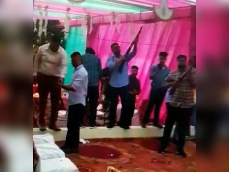 गैंगस्टर राणा कंडोवालिया की शादी में हुई फायरिंग, वीडियो वायरल होने के बाद 10 लोगों पर मामला दर्ज|पंजाब,Punjab - Dainik Bhaskar