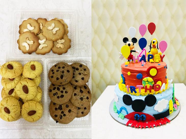 'द बेकिंग वर्ल्ड' में तान्या केक के अलावा अन्य बेकरी आइटम्स भी बनाती हैं।